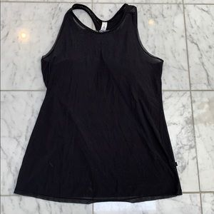 Lululemon Tank top with bra attached